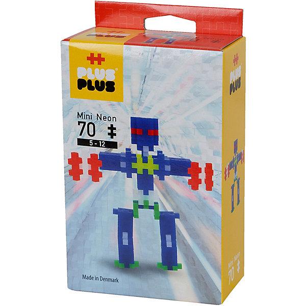 Plus Конструктор для создания 3D моделей «Робот», 70 деталей