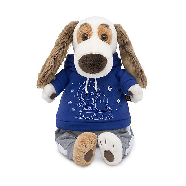 Budi Basa Мягкая игрушка Собака Бартоломей в спортивном костюме, 27см