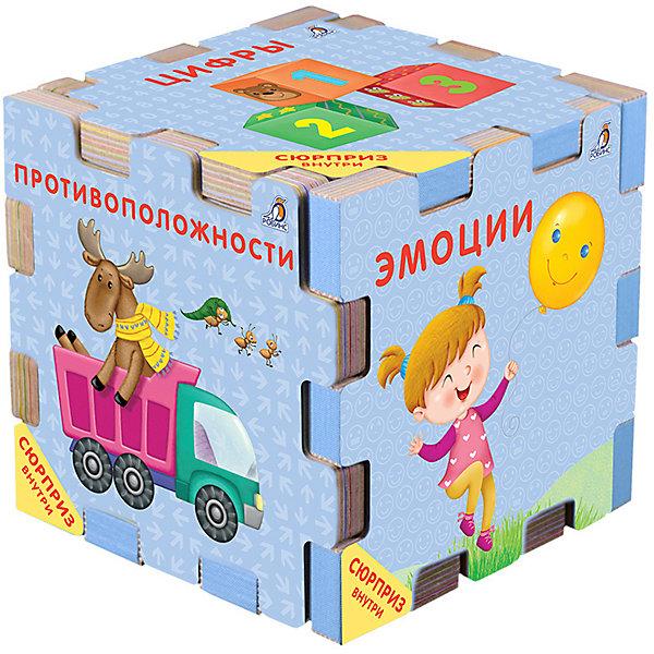 Робинс Книжный конструктор Развивающий кубик