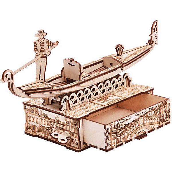 цена Wood Trick Механический 3D-пазл из дерева Wood Trick Шкатулка