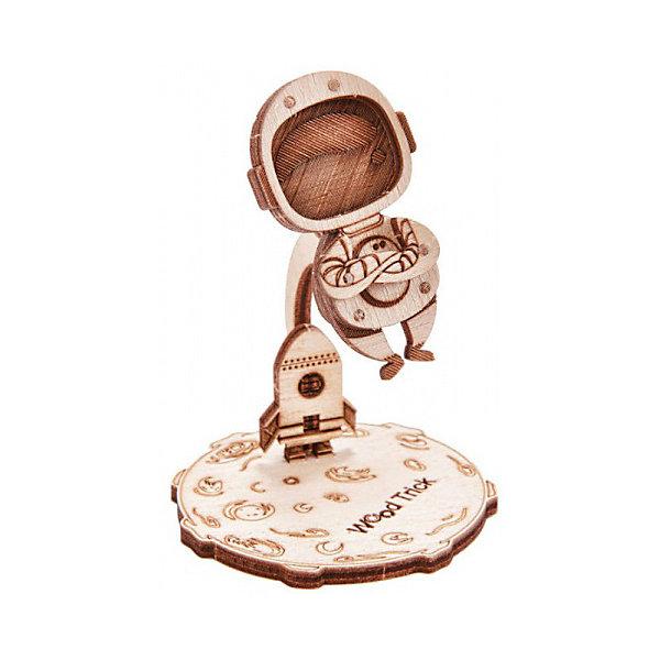 3D-пазл из дерева Wood Trick Вудик Космонавт
