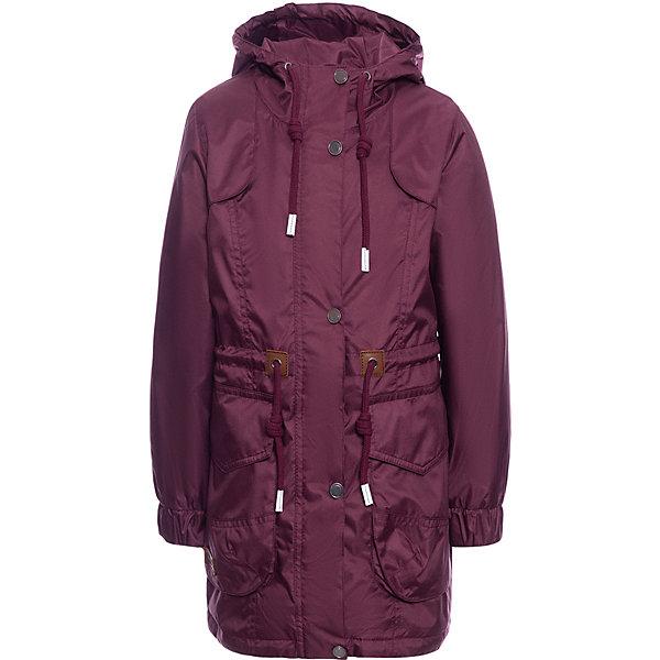 Куртка  OLDOS для девочкиВерхняя одежда<br>Характеристики товара:<br><br>• состав ткани: полиэстер<br>• подкладка: трикотаж<br>• утеплитель: Hollofan 60 г/м2<br>• сезон: демисезон<br>• температурный режим: от +5 до +15С<br>• водоотталкивающая пропитка<br>• застёжка: молния с защитой подбородка<br>• ветрозащитная планка<br>• регулируемый капюшон<br>• эластичная резинка на манжетах рукавов<br>• регулируемая талия<br>• светоотражающие элементы<br>• страна бренда: Россия<br><br>Куртка-парка защищает от влаги и ветра, утеплитель гипоаллергенен и надёжно удерживает тепло. Изделие обеспечивает комфортную посадку по фигуре, удобство и свободу движений. Рукава не будут перекручиваться благодаря манжетам.
