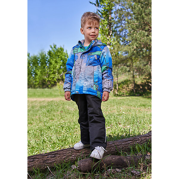 Купить Комплект OLDOS ACTIVE: демисезонная куртка и полукомбинезон, Россия, синий, 86/92, 98/104, 92/98, 80/86, Мужской