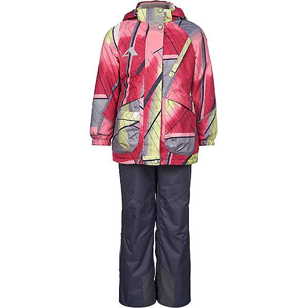 Комплект OLDOS ACTIVE: демисезонная куртка и полукомбинезонКомплекты<br>Характеристики товара:<br><br>• состав ткани: полиэстер, Teflon<br>• подкладка: 100% полиэстер<br>• утеплитель в куртке: Hollofan 100 г/м2<br>• водонепроницаемость: 3000 мм<br>• воздухопроницаемость: 3000 мм<br>• сезон: демисезон<br>• температурный режим: от -5 до +10С<br>• застёжка: молния с защитой подбородка<br>• ветрозащитная планка на кнопках<br>• съёмный капюшон<br>• эластичная резинка на манжетах рукавов<br>• нашивка-потеряшка внутри куртки<br>• брюки застёгиваются на молнию и кнопку<br>• внутренняя регулировка обхвата талии в брюках<br>• съёмные регулируемые подтяжки<br>• ветрозащитная муфта с антискользящей резинкой<br>• усиленные вставки внизу брючин<br>• светоотражающие элементы<br>• страна бренда: Россия<br><br>Функциональный костюм отлично подходит для прогулок в межсезонье. Обеспечивает сухость, тепло, свободу движений и комфортную посадку. Позволяет телу дышать. Материал износостойкий и лёгок в уходе. Куртка с флисовой подкладкой, а рукава и брюки с гладкой для облегчения надевания. Высокий воротник-стойка надёжно защищает шею от холодного ветра. Регулируемые детали максимально подгонят изделие по фигуре. Эластичные подтяжки не сдавливают и не натирают. Карманы на молнии.