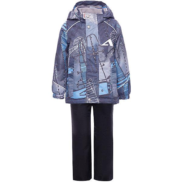 Купить Комплект OLDOS ACTIVE: демисезонная куртка и полукомбинезон, Россия, серый, 86/92, 98/104, 92/98, 80/86, Мужской