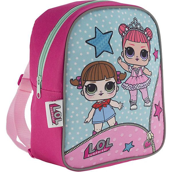 Купить Рюкзак детский AKADEMIA GROUP Куклы L.O.L , MGA, Китай, розовый, Женский