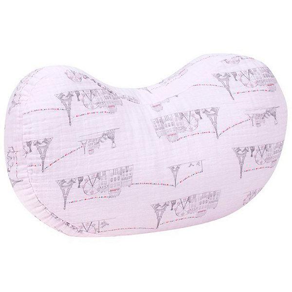 Купить Подушка для кормления Bebe au Lait Carousel Pink, 61х38 см, США, розовый, Женский