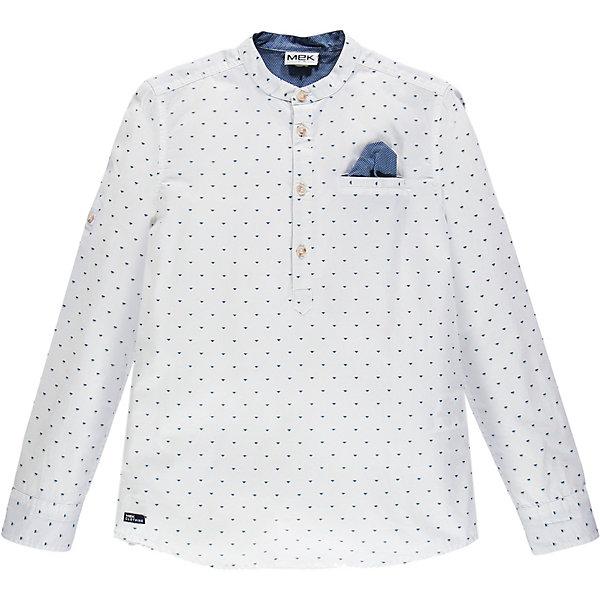 Рубашка MEK для мальчика, Белый