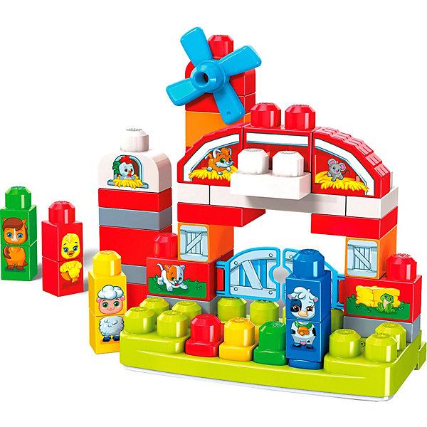 "Mattel Конструктор Mega Bloks First Builders ""Музкальная ферма"", 46 деталей"