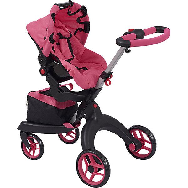 цена на Buggy Boom Коляска для кукол Buggy Boom Aurora, розовая