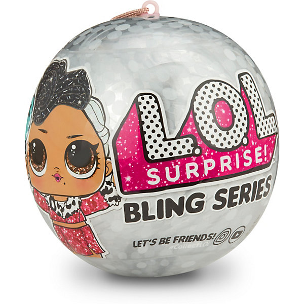 MGA Мини-кукла сюрприз LOL серия 2 Блестящие