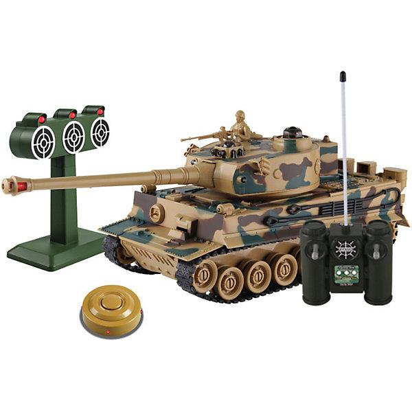 """Купить со скидкой Танк Mioshi Army """"Стрельбы: MТ-6"""" на радиоуправлении, свет/звук, камуфляж"""