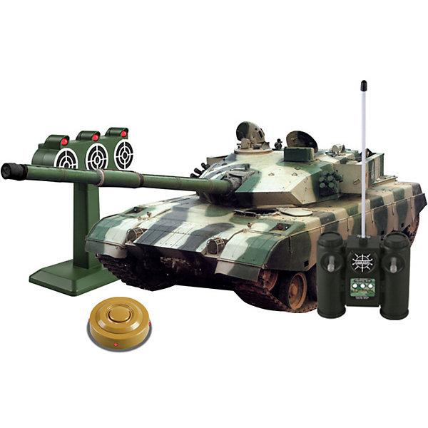 """Танк Mioshi Army """"Стрельбы: MZTZ-99"""" на радиоуправлении, свет/звук темно-зеленый  10792121"""