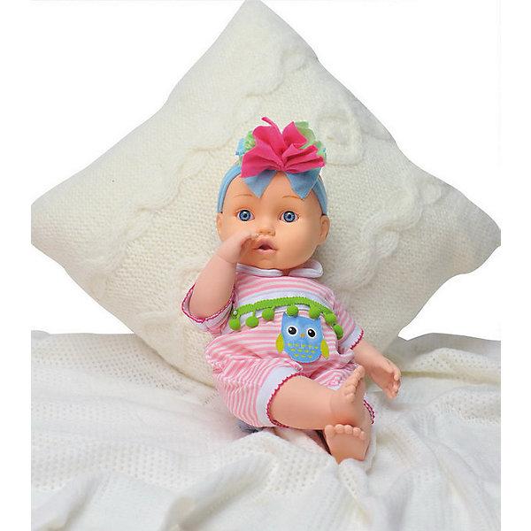 Купить Кукла Abtoys Bambina Bebe с аксессуарами для кормления, звук, 42 см, Китай, разноцветный, Женский
