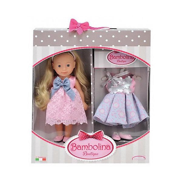 ABtoys Кукла Abtoys Bambolina Boutique набор маленькая модница, ,30см кровать bambolina bambolina divina 125 65см орех е0000006700
