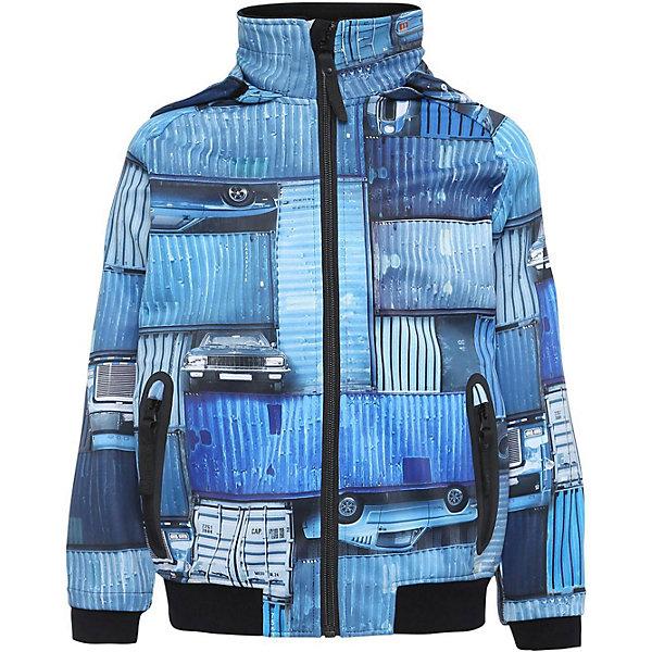 Купить Куртка Molo для мальчика, Китай, синий/белый, 128, 122, 152, 116, 140, 104, 110, Мужской