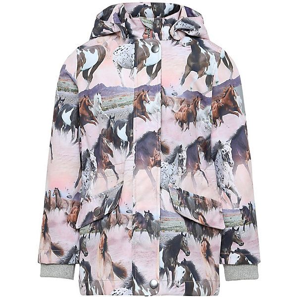 Купить Куртка Molo для девочки, Китай, разноцветный, 128, 116, 104, 122, 110, Женский