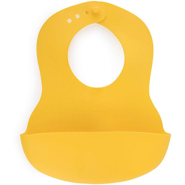 Нагрудник пластиковый Happy Baby, lemonНагрудники и салфетки<br>Характеристики:<br><br>• материал: пластик<br>• страна бренда: Великобритания<br><br>Приятный и мягкий нагрудник оснащен карманом для улавливания пищи и регулируемой застежкой, с помощью которой его можно надежно зафиксировать на шее. Благодаря материалу, не требующему стирки, удобен для дома и поездок.