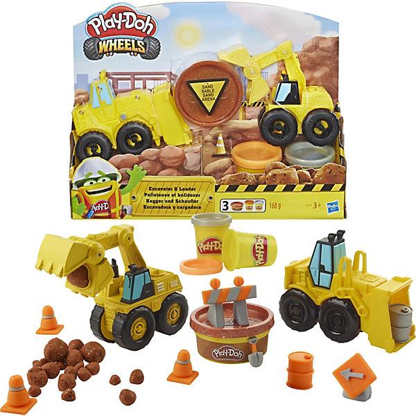 Купить Игровой набор Play-Doh Wheels Экскаватор, Hasbro, Китай, Мужской
