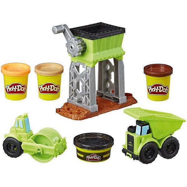 Купить Игровой набор Play-Doh Веселая Стройка, Hasbro, Китай, Мужской