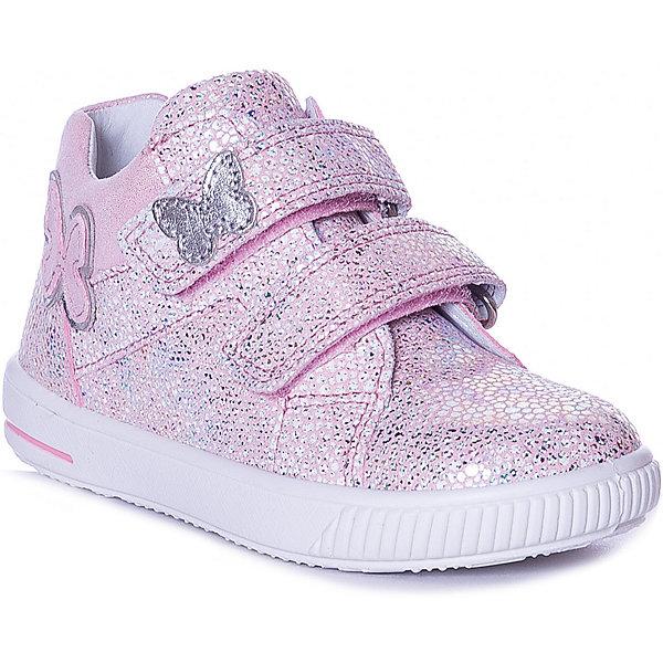 Купить Ботинки SUPERFIT для девочки, Индия, блекло-розовый, 23, 27, 24, 21, 25, 22, 28, 26, Женский