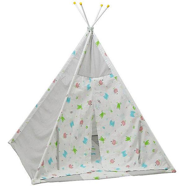 Polini-kids Палатка-вигвам детская Polini Монстрики, серая