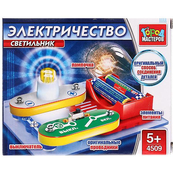 Город мастеров Электронный конструктор Светильник