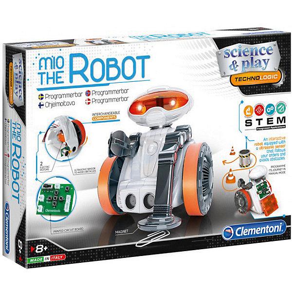 Конструктор Clementoni Робот МИО 2.0, Италия, разноцветный, Мужской  - купить со скидкой