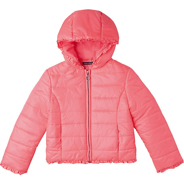 Купить Куртка Original Marines для девочки, Вьетнам, розовый, 104, 128, 98, 140, 116, 152, 164, Женский