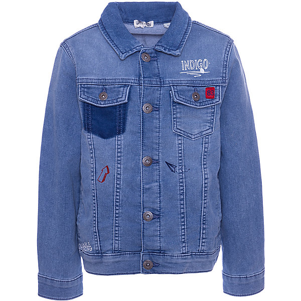 Купить Куртка джинсовая Original Marines для мальчика, Пакистан, синий, 116, 140, 104, 128, 98, 152, 164, Мужской