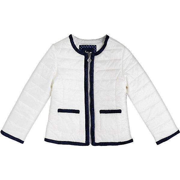 Купить Куртка Original Marines для девочки, Мьянма, белый, 116, 98, 140, 164, 104, 128, 152, Женский