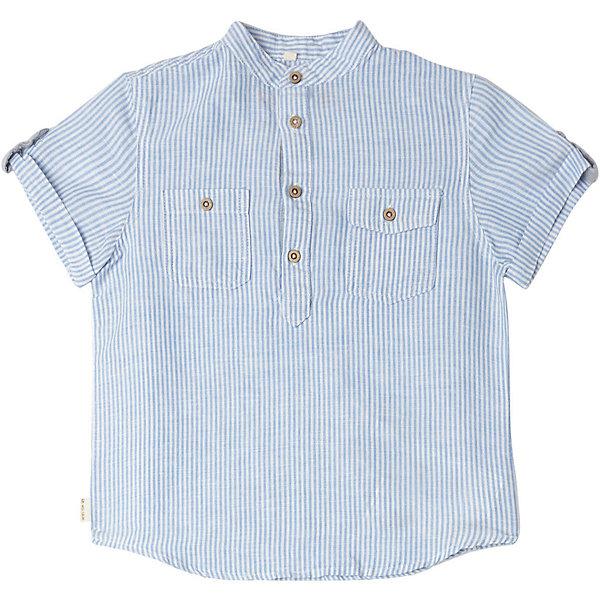 Купить Рубашка Original Marines для мальчика, Китай, голубой, 116, 104, 164, 152, 128, 140, 98, Мужской