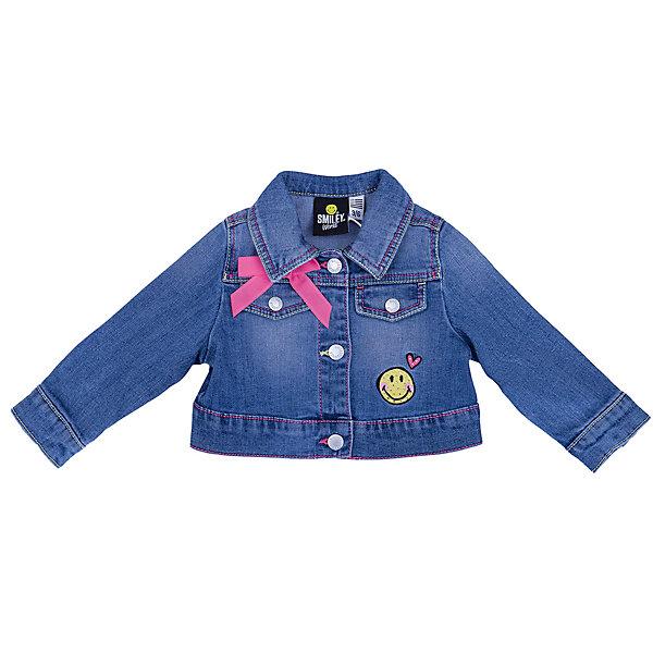 Купить Куртка джинсовая Original Marines для девочки, Бангладеш, синий, Женский