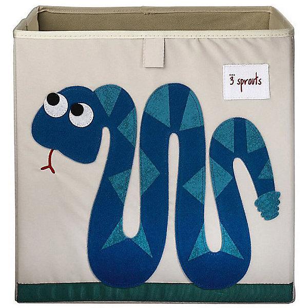 3 Sprouts Коробка для хранения 3 Sprouts, Змея коробка рыболовная flambeau waterproof tt 3 zerust