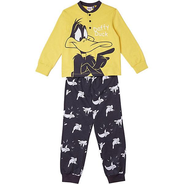 Купить Пижама Original Marines для мальчика, Бангладеш, желтый, 116, 128, 104, 98, Мужской