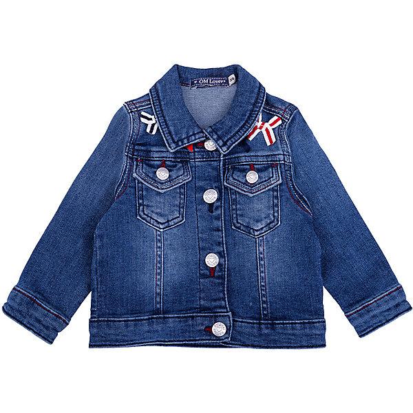 Купить Куртка джинсовая Original Marines для девочки, Пакистан, синий, Женский