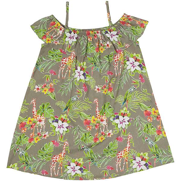 Купить Платье Original Marines для девочки, Индия, зеленый, 104, 116, 128, 164, 140, 98, 152, Женский