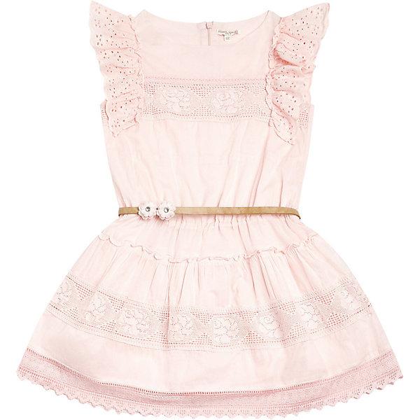 Купить Платье Original Marines для девочки, Индия, розовый, 104, 164, 98, 128, 152, 140, 116, Женский