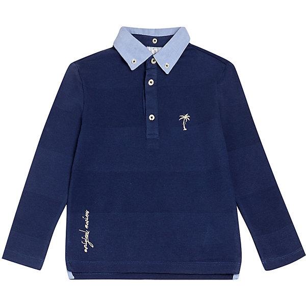 Купить Рубашка поло Original Marines для мальчика, Индия, синий, 104, 116, 98, 164, 140, 128, 152, Мужской