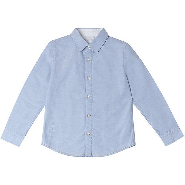 Купить Рубашка Original Marines для мальчика, Бангладеш, голубой, 128, 116, 104, 140, 98, 152, 164, Мужской