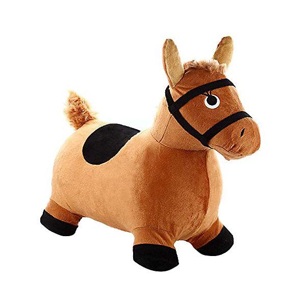 Мяч-прыгун Shantou Gepar Лошадка, коричневая, Коричневый
