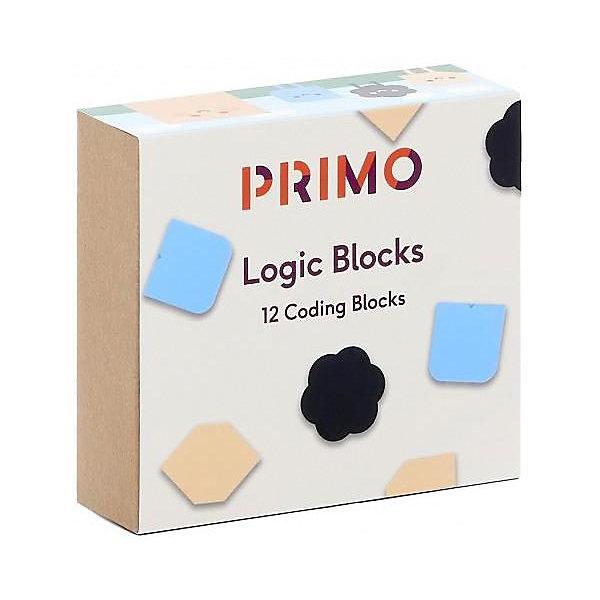 Набор дополнительных логических блоков Primo ToysРобототехника и электроника<br>Характеристики:<br><br>• материал: ABS-пластик, магнит<br>• в комплекте: 4 черных блока, 4 кремовых блока, 4 блока функция<br>• страна бренда: Великобритания<br><br>С помощью дополнительных блоков можно разнообразить игру с набором для програмирования Робот Cubetto, придумывать и усложнять алгоритмы движения. Каждый цвет отвечает за определенное движение: черный - случайное движение, кремовый - выполняет действие, противоположное следующей команде, синий - функция. Выполнены из экологически чистых, обработанных и безопасных материалов.