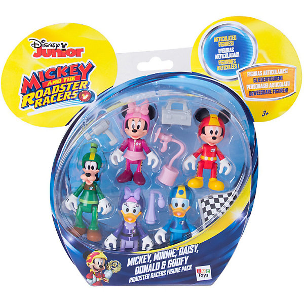 IMC Toys Набор фигурок Disney Mickey Mouse & friends с Минни