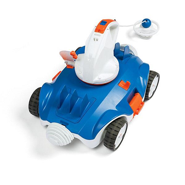 Беспроводной робот-пылесос для бассейнов Bestway AquatronixАксессуары для бассейнов<br>Характеристики:<br><br>• материал: пластик, металл, текстиль<br>• встроенный мешок для мусора<br>• встроенный аккумулятор<br>• страна бренда: США<br><br>Робот-пылесос отлично очищает дно бассейна от загрязнений. Прост в сборке и управлении. Работает без использования проводов. Выполнен из прочных материалов.