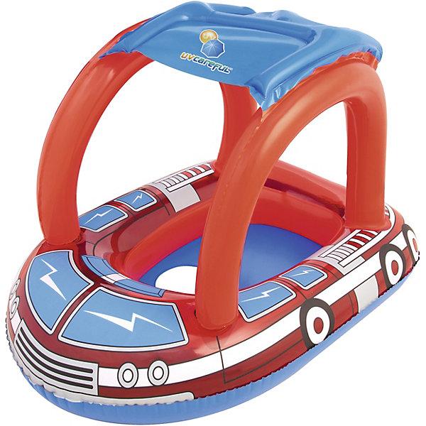 Лодочка для плавания Bestway Пожарная машина, с тентом