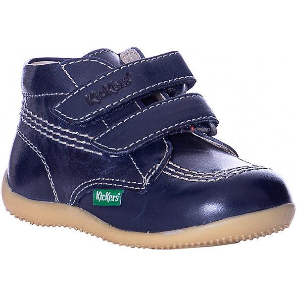 Купить Ботинки Kickers Billy VLK для мальчика, Индия, синий, 23, 26, 21, 19, 22, 24, 25, 20, 27, Унисекс