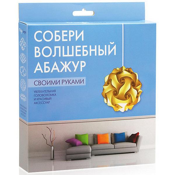 Купить Набор для творчества Magic Lamps Создай волшебный абажур , Бумбарам, Россия, белый, Унисекс