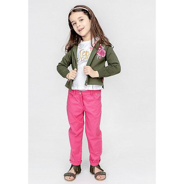 Купить Кардиган Gulliver для девочки, Китай, темно-зеленый, 122, 98, 110, 128, 116, 104, Женский