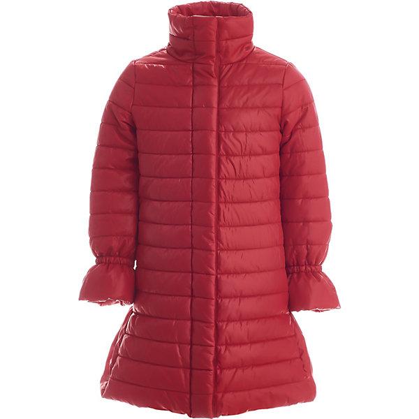 Пальто Gulliver для девочки, Красный