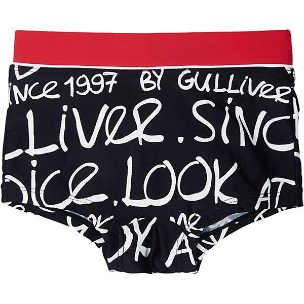 Купить Плавки Gulliver, Китай, черный, 110/116, 98/104, 122/128, Мужской